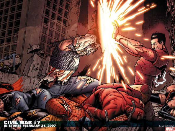 Spiderman-Dead-Civil-War